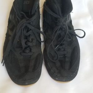 Black Wrestling Shoes